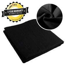 Absolute Black Cotton/Muslin Background/Backdrop | 2x3m/6.6x9.8ft | by Lencarta