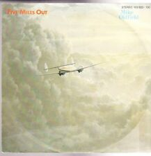 """7"""" Mike Oldfield Five Miles Out / Live Punkadiddle 80`s Virgin"""