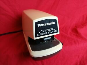 Panasonic COMMERCIAL ELECTRIC STAPLER Model AS-300N Tested Works