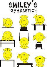 Smiley Gymnastics t-shirt clothing