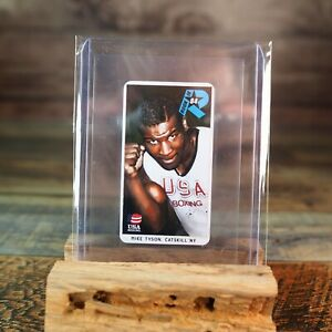 Mike Tyson Rookie RC Card 1984 USA Boxing American Tobacco Card Collectible
