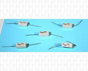 Resistors 500 Ohm 5 Watt Sand Block Lot Of 5