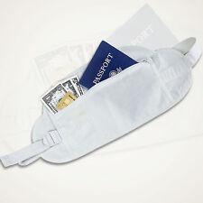 Security Money Belt Wallet Travel Waist Pouch Passport Holder Hidden Bag Cotton
