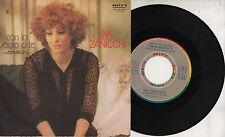 IVA ZANICCHI disco 45 giri MADE in ITALY Con la voglia di te + Sei contento 1978