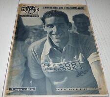 MIROIR SPRINT 636 1957 CYCLISME TOUR FRANCE FORESTIER BARONE HASSENFORDER