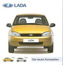 Prospekt / Brochure Lada 1118 / 1119 03/2006