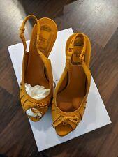Christian Dior Gipsy Sling platform sandals.Size IT 39/US 9