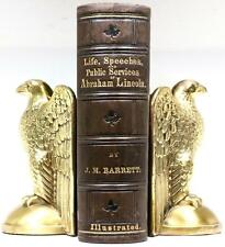 Rare 1865 Life Of Abraham Lincoln CIVIL WAR Slavery Illustrated