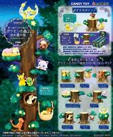 Re-ment Pokemon Forest 2 The Night Of Shooting Stars 1BOX 8 Figures Complete JP