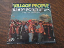 45 tours VILLAGE PEOPLE ready for the 80's (prets pour les annees 80)