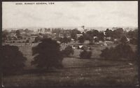 "Romsey, Hampshire. A General View Over Romsey. Unused ""Sepiatone"" Postcard"