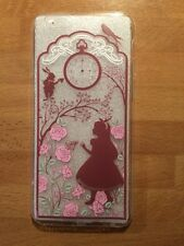 Disney Pink Alice In Wonderland Clear Silicone Gel Case For iPhone 6/6s. BN