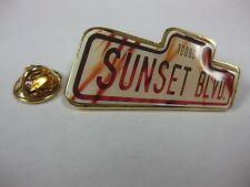 Sunset Boulevard Pin Rare Souvenir New pin2673