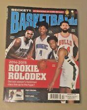 Beckett Basketball Price Guide Magazine December 2015 Andrew Wiggins