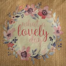 Paper napkins for decoupage and craft