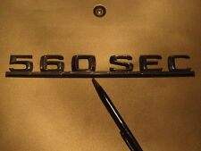W126 560 SEC 560SEC coupe original mercedes badge BREAKING