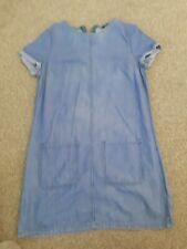 New Look Denim Dress Size:10