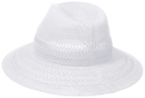 Collection XIIX Color Expansion Panama Hat in White, Retail $32.00