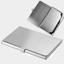 Lot 2 New Metal Business ID Credit Card Holder Case Box Mini Wallet Pocket 2015