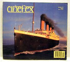 1997 CINEFEX #72 Sci-Fi SFX Magazine- TITANIC/KATE WINSLET/LEO DECAPRIO