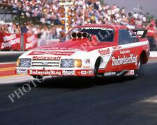 FUNNY CAR PHOTO KENNY BERNSTEIN DRAG RACING POMONA 1985 NHRA