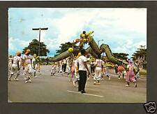 DRAGON DANCE, CELEBRATING SINGAPORE'S NATIONAL DAY *