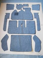 VOLKSWAGEN SUPERBEETLE CONVERTIBLE 1971-1972 GRAY TWEED LOOP  CARPET KIT  CRAZY