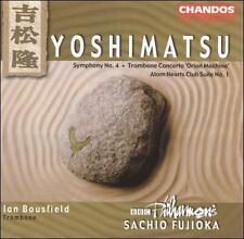 Takashi Yoshimatsu: Symphony No. 4; Trombone Concerto; Atom Hearts Club Suite No