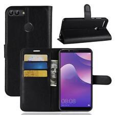Wiko View Lite Coque de protection Housse Pochette Wallet Case Noir