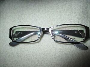 OAKLEY MATTE GUN DESIGNER Eye Glasses FRAMES 130  49 - 16 NEW.!