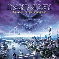 IRON MAIDEN - BRAVE NEW WORLD (2017 REM. 180 GR)  2 VINYL LP NEW!