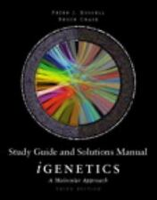 Study Guide and Solutions Manual for iGenetics: A Molecular Approach