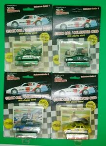 (4) Racing Champions Collector's Series 1 w/cards StockCar #20, 30, 3 & 33 MIP!