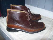 bottines DANIEL HECHTER cuir brun .taille 37,5 .(33/J/Y/F)