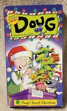 Brand Spanking New Doug DOUG'S SECRET CHRISTMAS Vhs Video Tape Jumbo Walt Disney