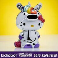 "Kidrobot X The Simpsons Blinky le poisson Nigiri 3/"" Rainbow chrome NEW YORK COMIC RCO 2019"