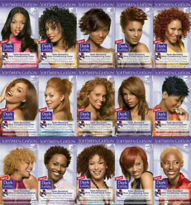 Dark and Lovely Hair Dye Permanent All Colours Available