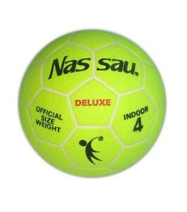 NASSAU Deluxe Indoor Soccer Ball Football Official Size 4