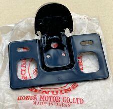 NOS Genuine Honda Rear Light / Licence Plate Holder for C110 C115 General Export
