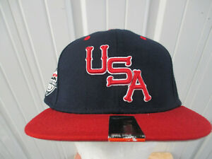 VINTAGE NIKE USA OLYMPIC BASKETBALL TEAM  SNAPBACK CAP HAT NEW W/ TAGS LEBRON