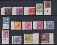 Berlin 21-34 Rotaufdruck postfrischer Randsatz FA Schlegel einwandfrei (bt476)