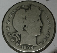 Better Date 1893-O Barber Half Dollar!!