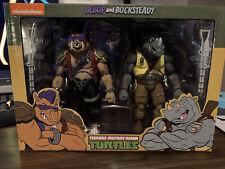 NECA Teenage Mutant Ninja Turtles Bebop and Rocksteady figures
