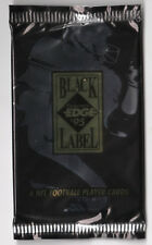 Lot of 8 Packs 1995 Collector's Edge Black Label Football Trading Cards