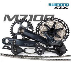 New SHIMANO SLX M7100/M7120 1x12 12-speed MTB Groupset 51T, 32T/34T/170MM/175MM