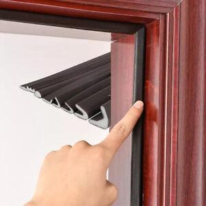 5M Self Adhesive Soundproof Foam Door Window Seal Acoustic Foam V-Type Sealing