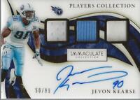 2020 Immaculate Collection Players Collection #36 Jevon Kearse Auto Jersey /99