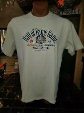 Hall of Fame Game Cleveland Browns vs Dallas Cowboys 1999 tan XL t-shirt