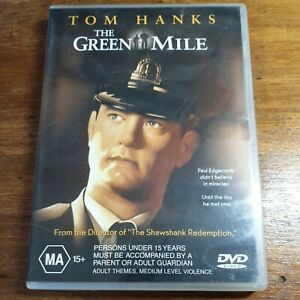The Green Mile DVD R4 LIKE NEW FREE POST