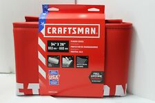 """NEW CRAFTSMAN AUTOMOTIVE FENDER COVER PROTECTOR RED MADE IN USA 34""""x26"""""""